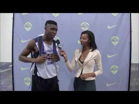LeBron James Skills Academy: Zylan Cheatham