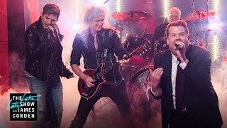 Video Front Man Battle w/ Queen + Adam Lambert MP3, 3GP, MP4, WEBM, AVI, FLV Oktober 2018