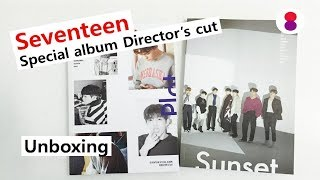 Seventeen Director's cut unboxing Special album 세븐틴 스페셜 앨범 セブンティーン