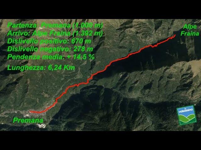 Da Premana all'Alpe Fraina