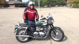 6. 2010 Triumph Bonneville T100 demo