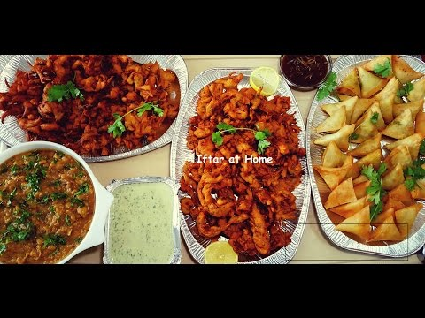Iftar At Home With Family (Home Cooked Food & Snacks) Qatari Cuisine-Part 1