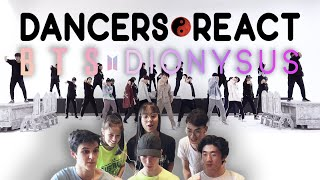Video Dancers React to BTS 방탄소년단 'Dionysus' MMA Dance Practice download in MP3, 3GP, MP4, WEBM, AVI, FLV January 2017