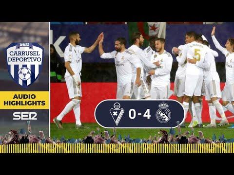 ¡EL MEJOR MADRID DE LO QUE VA DE AÑO! Los goles del Eibar 0 - 4 Real Madrid en Carrusel