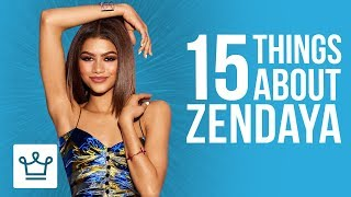 Video 15 Things You Didn't Know About Zendaya MP3, 3GP, MP4, WEBM, AVI, FLV Oktober 2018