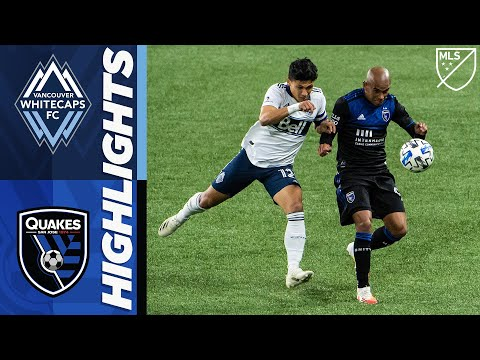 Vancouver Whitecaps FC vs San Jose Earthquakes | October 24, 2020 | MLS Highlights