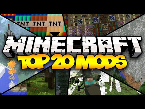 mods - THE BEST MINECRAFT MODS IN HISTORY! ✓ SUBSCRIBE! ▻ http://tinyurl.com/UnspeakableGaming Introducing the Top 20 Minecraft Mods! This video includes 20 breath-taking Minecraft mods! All...