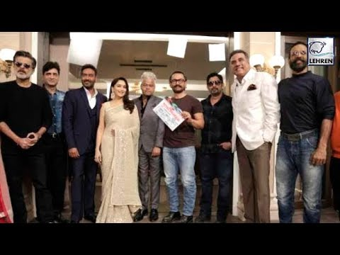 Aamir Khan Gives Mahurat Clap For Ajay Devgn's Tot