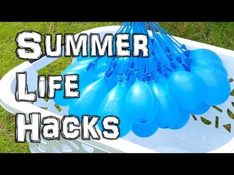 The Ultimate Summer Life Hacks Video (видео)