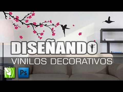 Decorativos - Como se hace diseños de vinilos decorativos Blog: http://entucurso.blogspot.com/ Facebook http://www.facebook.com/altoestilo.decoracionesdelhogar.