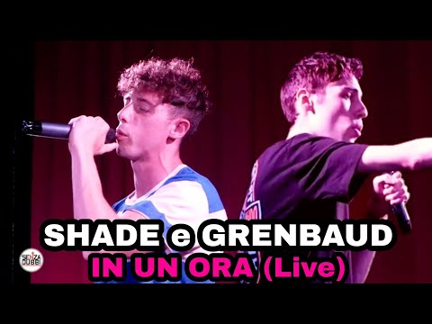 Shade, GrenBaud - In un'ora (Official Live Performance)