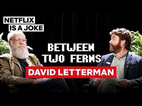 David Letterman: Between Two Ferns with Zach Galifianakis | Netflix Is A Joke