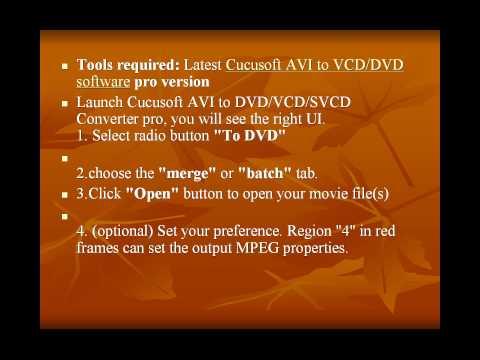 DVD Burning  How to Download & Burn DVDs