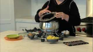 Lazy Susan Electric Fondue Demo Video Icon
