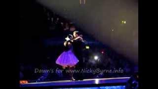Nicky Byrne & Karen Hauer SCD 2014 Live Group Dance 1 20-01-14