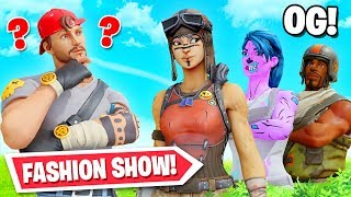 OG SKIN Fortnite Fashion show! (Winner = Vbucks) by Ali-A