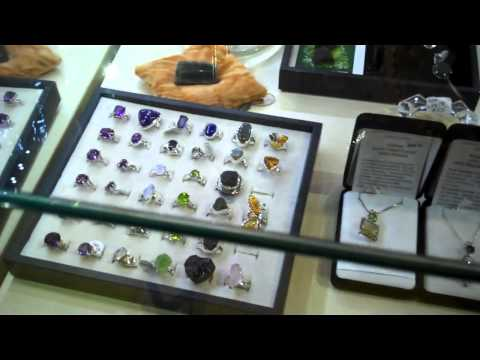AURA SHOP - crystals, chakras, and metaphysics - Store Tour - Gemstone Jewelry