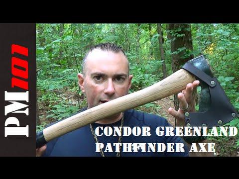 Condor Greenland Axe Pathfinder Edition: My New Favorite! - Preparedmind101