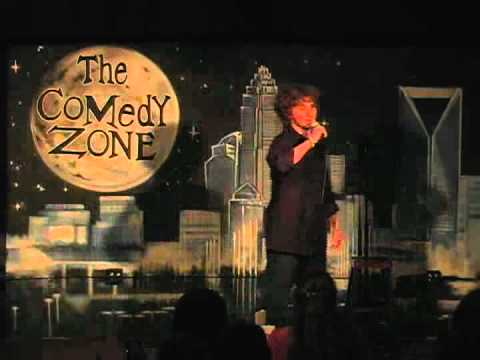Evan Sachs on 7-30-12 at Graduation Night for The Comedy Zone Comedy School
