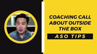 Coming up is a coaching call I did where you will discover how to name your app to highlight your app's benefits, outside the box ...