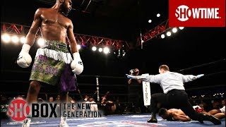 Jaron Ennis KOs Raymond Serrano | SHOBOX: THE NEW GENERATION