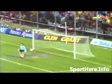 A beauty of a goal from Carlo Ancelotti against Real Madrid in 1989