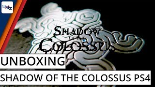 Shadow of the Colossus PS4 Media Kit Unboxing