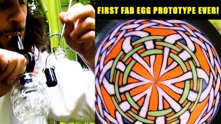 DABBING OUT OF THE FIRST FAB EGG! by The Cannabis Connoisseur Connection 420