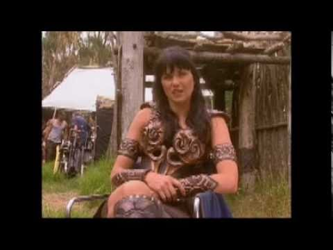 Lucy Lawless (Xena) And Zoe Bell Bonus Clips From Double Dare Part 2/2
