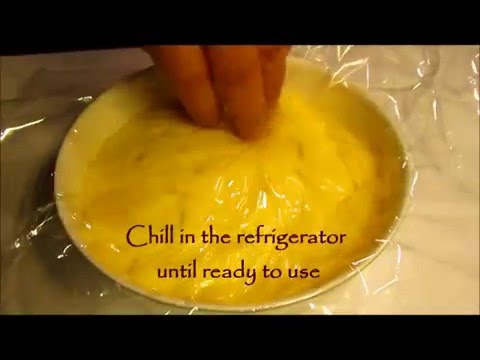 VANILLA CREAM Custard Filling - Easy Recipe
