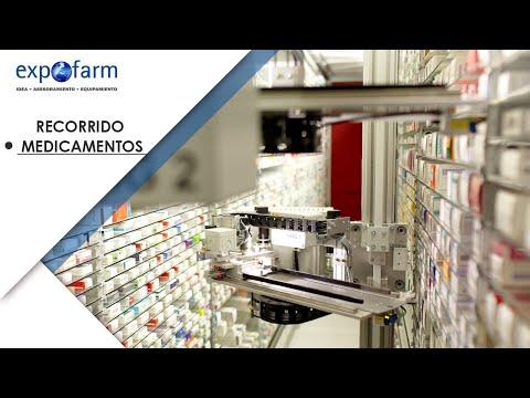 Recorrido de los medicamentos en los robots de farmacia Apostore