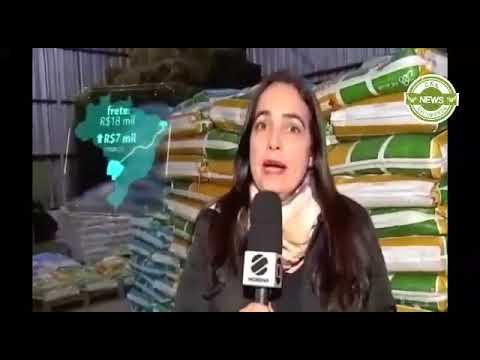 Jornal Nacional: Produtores da região Centro-Oeste estão com dificuldades para escoar produção