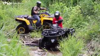 8. 2017 Can-Am OUTLANDER MAX  XT-P 850 & 1000 : TKKY ATV Tour