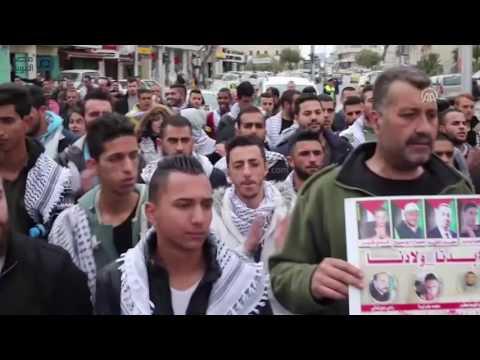 مصر العربية | الجيش الإسرائيلي يفرق مسيرة تطالب بالإفراج عن جثامين محتجزة جنوبي الضفة