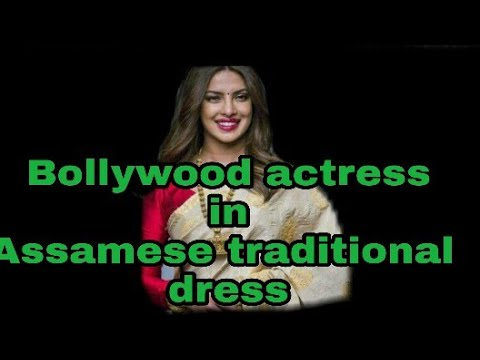 Bollywood actress in Assamese traditional dress/ #assamese trational dreess