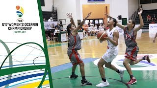 Watch live New Zealand v New Caledonia at the FIBA U17 Women's Oceania Championship 2017. ►► Subscribe: http://fiba.com/subYT Facebook: http://facebook.com/F...