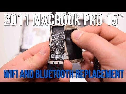", title : '2011 Macbook Pro 15"" A1286 WiFi and Bluetooth Card Replacement'"