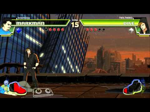Taking a Look At: Divekick PS3