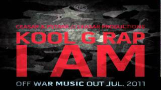 "Kool G Rap | ""I Am"" (Produced By The Ceasars)"