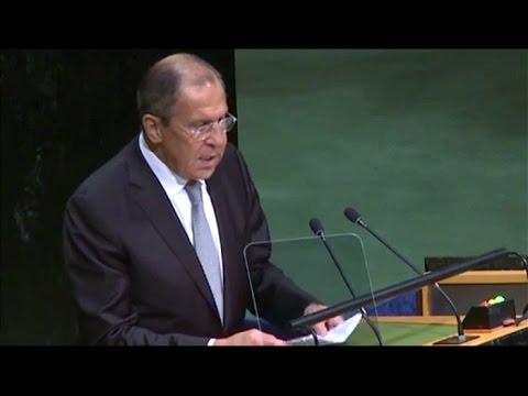 Выступление Министра иностранных дел РФ Сергея Лаврова на Генеральной Ассамблее ООН (23.09.16) (видео)