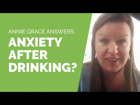 Why do I have so much anxiety the day after drinking?