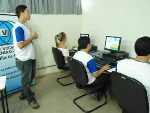 Video Simulacao   CVT Brasília de Minas   Programa Intel Aprender