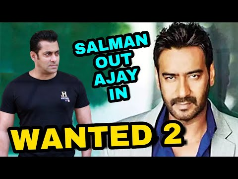 Video अब Ajay Devgn करेंगे Wanted 2,Ajay Devgn In Wanted 2,Salman Khan Not do Wanted 2,Wanted 2 Movie download in MP3, 3GP, MP4, WEBM, AVI, FLV January 2017