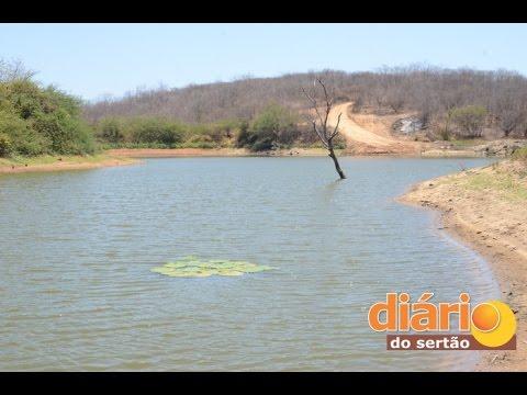 Sistema de abastecimento de água da prefeitura está parado há oito anos em Serra Grande