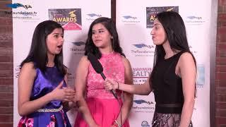 Divya Sharma speaks to Priyanka and Shruti on the FTV Red Carpet