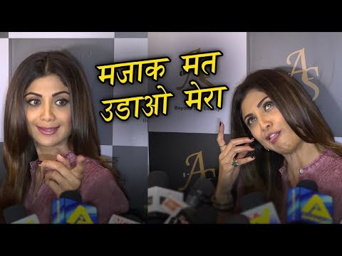Shilpa Shetty FUNNY INTERVIEW with Media