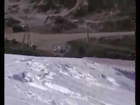 Магадан Арманский перевал - 14.06.2009 - начало каталки (видео)