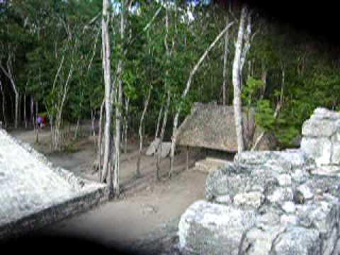tonkaboy74 - A small ballcourt used at Coba by the ancient Mayans to play their ballgame. Filmed in Mexico in 2006.