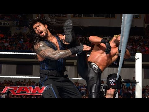 Roman Reigns Vs. Seth Rollins: Raw, Sept.  15, 2014