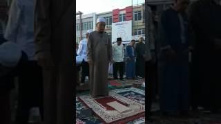 H Muammar ZA - Bikin Nangis Jadi Imam shalat Idul fitri 1 Syawal 1438 H